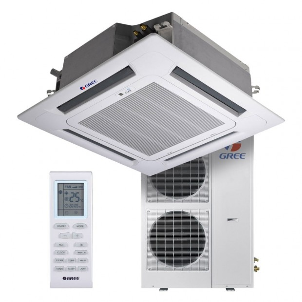 Кассетный кондиционер GREE GU125T/A1-K/GU125W/A1-M