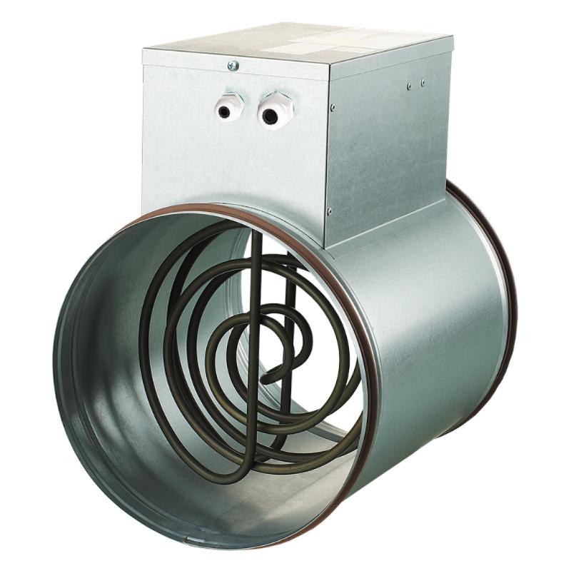 Принадлежности для системы вентиляции Электрические нагреватели