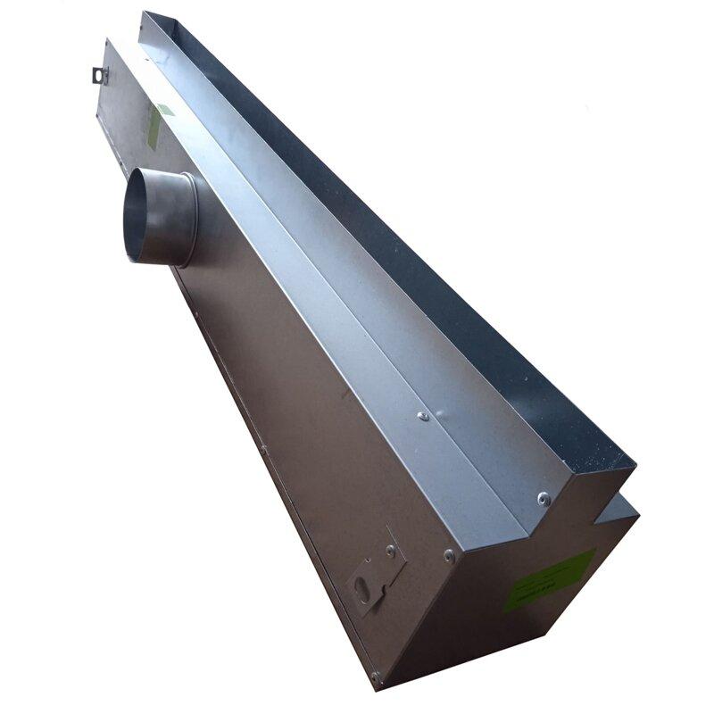 Вентиляционные решетки Пленум боксы (адаптеры) для щелевых решеток