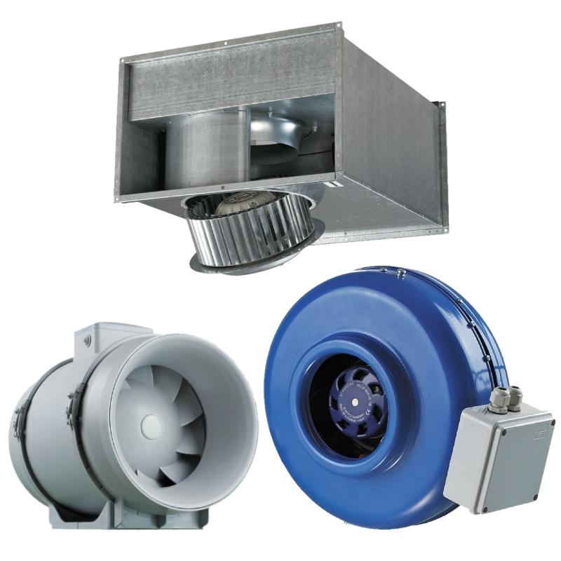 Вентиляция Промышленные вентиляторы