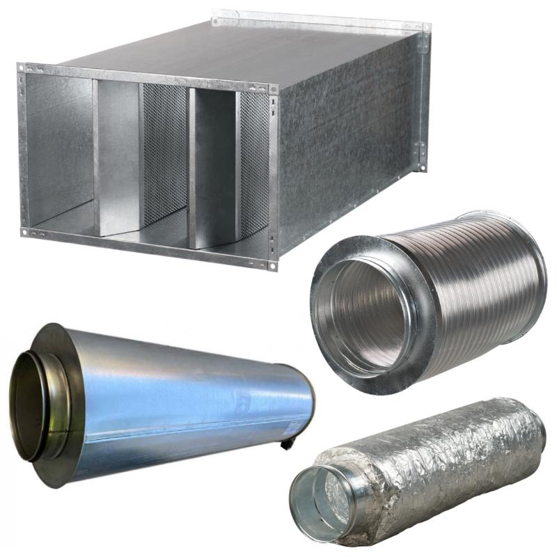 Принадлежности для системы вентиляции Шумоглушители