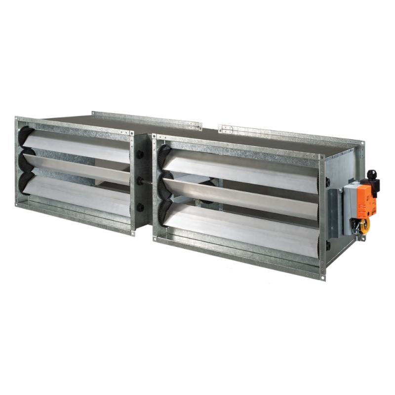 Принадлежности для системы вентиляции Смесительные камеры