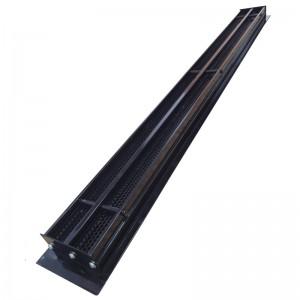 Щелевые диффузоры SD+P 2-h90-L-1000 (RAL 9005/9005/perf 9005)