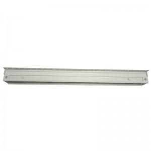 Щелевые диффузоры SD+HP 1-h50-L-1000 (RAL 9016/9016/perf 9005)