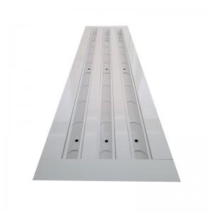 Щелевые диффузоры SD+D 3-H130-L500  (RAL 9016/9016/demp 9016)