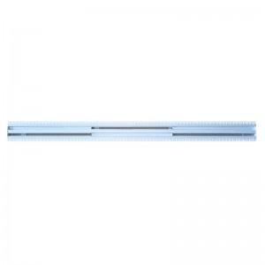 Щелевые диффузоры скрытого монтажа SD+HP 2-h90-L1500 (RAL 9016/9016/perf 9016)