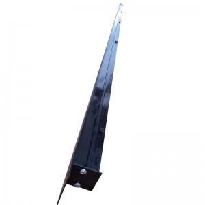 Щелевые диффузоры SD+P 1-h50-L2000 (RAL 9005/9005/perf 9016)