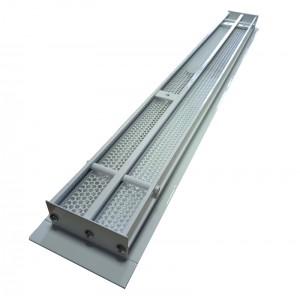 Щелевые диффузоры SD+P 2-h90-L-1200 (RAL 9016/9016/perf 9016) (2)