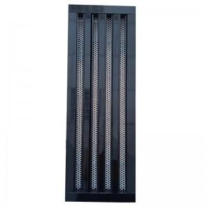 Щелевые Диффузоры SD+P 4-h170-L500 (perf RAL 9016)