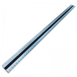Щелевые диффузоры SD+HP 1-h50-L-1200 (RAL ----/9005/perf 9005)