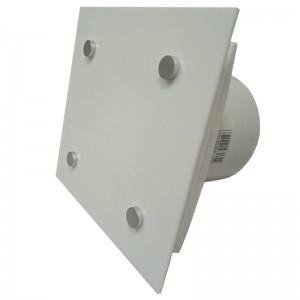 Вытяжной вентилятор Вентс 125 Модерн белый