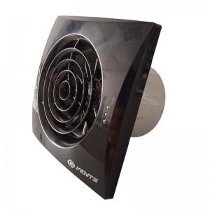 Вытяжной вентилятор Вентс 100 Квайт Черный Сапфир